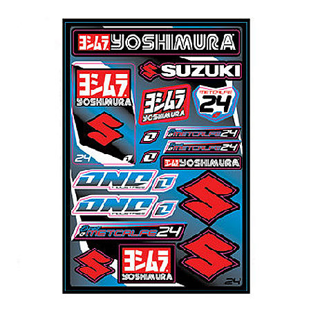 2013 One Industries Factory Decal Sheet - Suzuki - Main