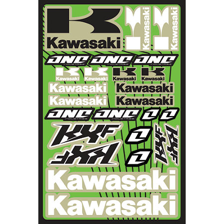 2013 One Industries Kawasaki KXF Decal Sheet - Main