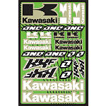 2013 One Industries Kawasaki KXF Decal Sheet - Utility ATV Trim Decals