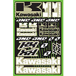 2013 One Industries Kawasaki KX Decal Sheet - Motocross Graphics & Dirt Bike Graphics