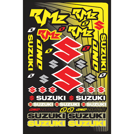 2013 One Industries Suzuki RMZ Decal Sheet - Main