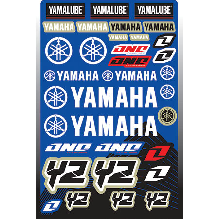 2013 One Industries Yamaha YZ Decal Sheet - Main
