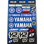 2013 One Industries Yamaha YZ Decal Sheet - One Industries Dirt Bike Dirt Bike Parts
