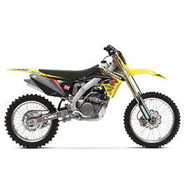 2013 One Industries Factory Graphic - Suzuki - 2010 Suzuki RMZ250 2013 Factory Effex EVO 10 Graphics - Suzuki