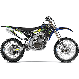 2012 One Industries Monster Energy Graphic Kit - Yamaha - 2012 Yamaha YZ450F 2011 One Industries Rockstar Graphic Kit - Yamaha