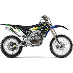 2012 One Industries Monster Energy Graphic Kit - Yamaha - One Industries Dirt Bike Graphic Kits With Seat Covers