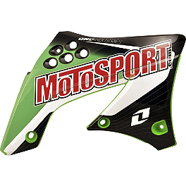 2013 One Industries MotoSport Graphic - Kawasaki - 2013 One Industries Delta Graphic Trim Kit - Kawasaki