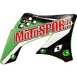 2013 One Industries MotoSport Graphic - Kawasaki - Dirt Bike Graphic Kits