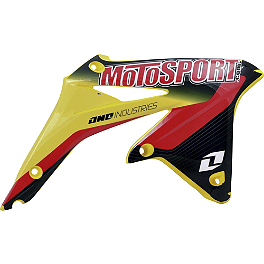 2013 One Industries MotoSport Graphic - Suzuki - 2012 One Industries Fork Guard Decals - Suzuki