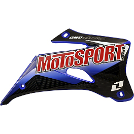 2013 One Industries MotoSport Graphic - Yamaha - 2012 One Industries Fork Guard Decals - Yamaha