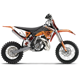 2012 One Industries Orange Brigade Graphic - KTM - 2009 KTM 85SX 2012 N-Style Factory Team Graphics Kit - KTM
