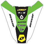 2012 One Industries Rear Fender Decal - Kawasaki - Dirt Bike Trim Decals