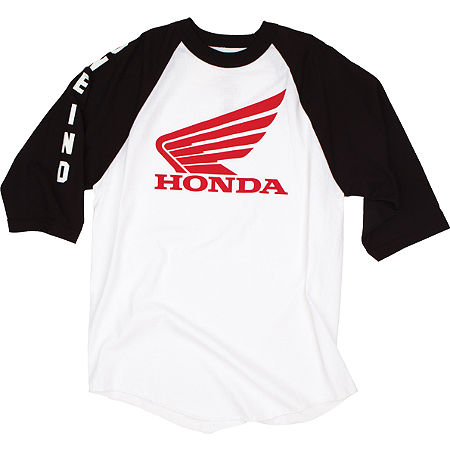 One Industries Honda Strike Baseball T-Shirt - Main