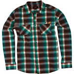 One Industries Medford Long Sleeve Plaid Shirt - One Industries CLOSEOUT ATV Mens Casual