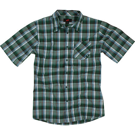 One Industries Mills Short Sleeve Plaid Shirt - Main