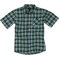 One Industries Mills Short Sleeve Plaid Shirt
