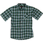 One Industries Mills Short Sleeve Plaid Shirt - One Industries CLOSEOUT Dirt Bike Mens Casual