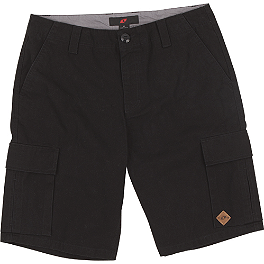 One Industries Worthy Cargo Shorts - Metal Mulisha Pained Jersey