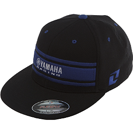 One Industries Yamaha Whiteout Hat - Factory Effex Yamaha Ion Flexfit Hat