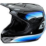 2013 One Industries Atom Helmet - Beemer - FEATURED-1 Dirt Bike Helmets and Accessories