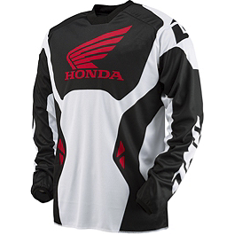 2014 One Industries Atom Jersey - Honda - 2013 One Industries Carbon Honda Pants