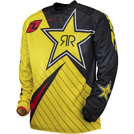 2014 One Industries Atom Jersey - Rockstar - 2014 One Industries Atom Pants - Rockstar