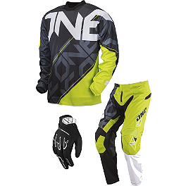 2013 One Industries Carbon Combo - Cypher - 2013 Scott 350 Combo - Grid Locke