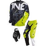 2013 One Industries Carbon Combo - Cypher -  Dirt Bike Pants, Jersey, Glove Combos