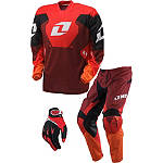 2013 One Industries Carbon Combo - One Industries Utility ATV Pants, Jersey, Glove Combos