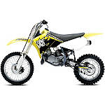 2013 One Industries Checkers Graphic - Suzuki - Dirt Bike Graphic Kits