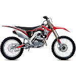 2013 One Industries Checkers Graphic Kit - Honda - One Industries Dirt Bike Graphic Kits