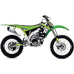 2013 One Industries Checkers Graphic Kit - Kawasaki - One Industries Dirt Bike Graphic Kits