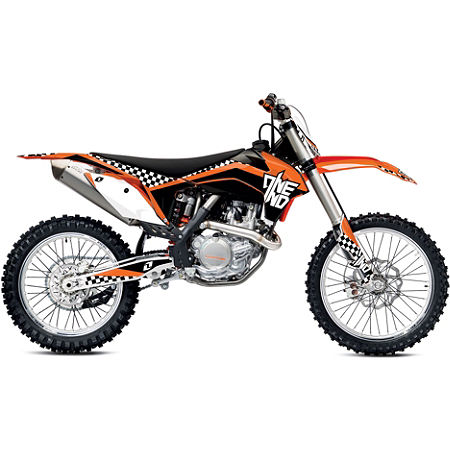 2013 One Industries Checkers Graphic Kit - KTM - Main