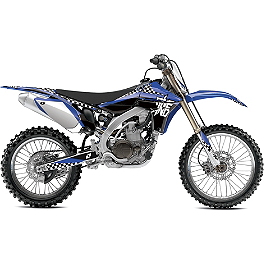 2013 One Industries Checkers Graphic Kit - Yamaha - 2010 Yamaha YZ250F 2013 Factory Effex Two Complete Graphic Kit - Yamaha