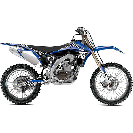 2013 One Industries Checkers Graphic Kit - Yamaha - Main