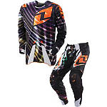 2013 One Industries Defcon Combo - Lightspeed - One Industries Defcon Dirt Bike Pants, Jersey, Glove Combos