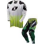 2013 One Industries Defcon Combo - Saber -  Dirt Bike Pants, Jersey, Glove Combos