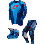 2013 One Industries Defcon & Gamma Combo -  Dirt Bike Motocross Knee & Ankle Guards