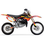 2013 One Industries Delta Graphic Kit - Honda - One Industries Dirt Bike Graphic Kits