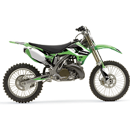 2013 One Industries Delta Graphic Kit - Kawasaki - 2004 Kawasaki KX250 2013 Factory Effex Metal Mulisha Graphics - Kawasaki