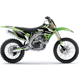 2013 One Industries Delta Graphic Kit - Kawasaki - Factory Effex EVO 9 Graphics - Kawasaki