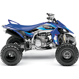 2013 One Industries Delta ATV Graphic Kit - Yamaha - GYTR One Industries Graphic Kit - Silver Flame