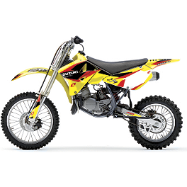 2013 One Industries Delta Graphic Kit - Suzuki - 2013 Factory Effex EVO 10 Graphics - Suzuki