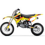 2013 One Industries Delta Graphic Kit - Suzuki - Suzuki 2014-ONE-INDUSTRIES-DELTA--SUZUKI Dirt Bike Graphics