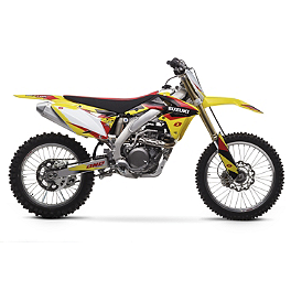 2013 One Industries Delta Graphic Kit - Suzuki - 2009 Suzuki RMZ450 2013 Factory Effex EVO 10 Graphics - Suzuki