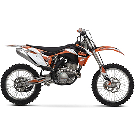 2013 One Industries Delta Graphic Kit - KTM - 2013 One Industries Checkers Graphic - KTM