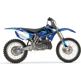 2013 One Industries Delta Graphic Kit - Yamaha - 2003 Yamaha YZ125 2013 Factory Effex Two Complete Graphic Kit - Yamaha