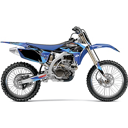 2013 One Industries Delta Graphic Kit - Yamaha - 2009 Yamaha YZ250F 2013 Factory Effex Two Complete Graphic Kit - Yamaha