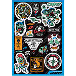 One Industries Creature Decal Sheet - Dirt Bike Body Parts and Accessories