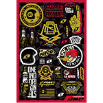 One Industries Garage Decal Sheet - Dirt Bike Graphics and Stickers